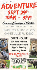 Carson Springs Wildlife Fall Safari Open House