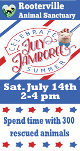 Rooterville Animal Sanctuary July Jamboree