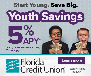 Florida Credit Union Youth Savings - Winter