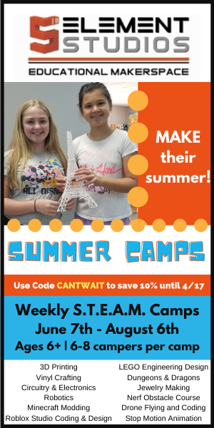 5th Element Studios Summer Camps