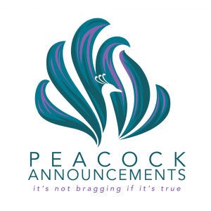 Peacock Announcements