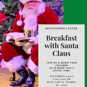 12/19 Breakfast with Santa Claus at Montgomery Center