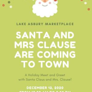 12/12 Meet-and-Greet with Mr. and Mrs. Claus at Lake Asbury Marketplace